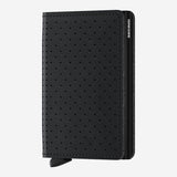 Secrid - Slim Wallet - Perforated Black Leather