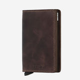 Securid - Slim Wallet - Vintage Chocolate