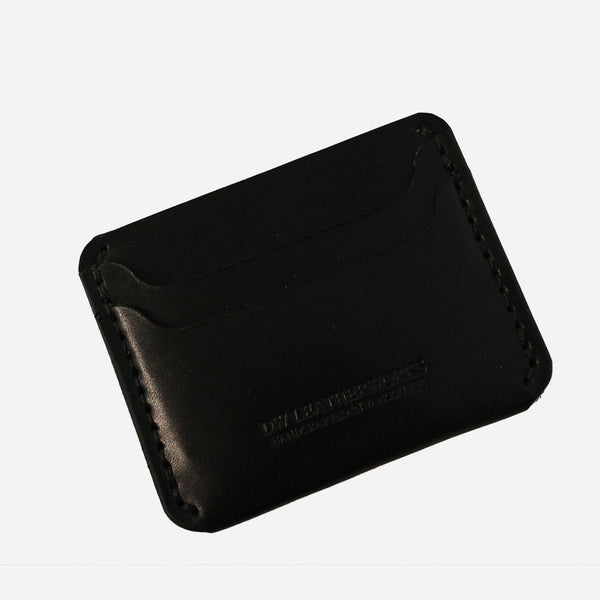 DW Leatherworks - Slim Wallet (3 card + middle) - Black
