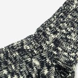 Slub Crew Socks - Charcoal Grey