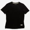 Outclass Attire - Slub Short-Sleeve T-Shirt - Black