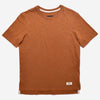 Outclass Attire - Slub Short-Sleeve T-Shirt - Terracotta