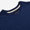 Slub Short-Sleeve T-Shirt - Indigo