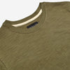 Slub Short-Sleeve T-Shirt - Olive