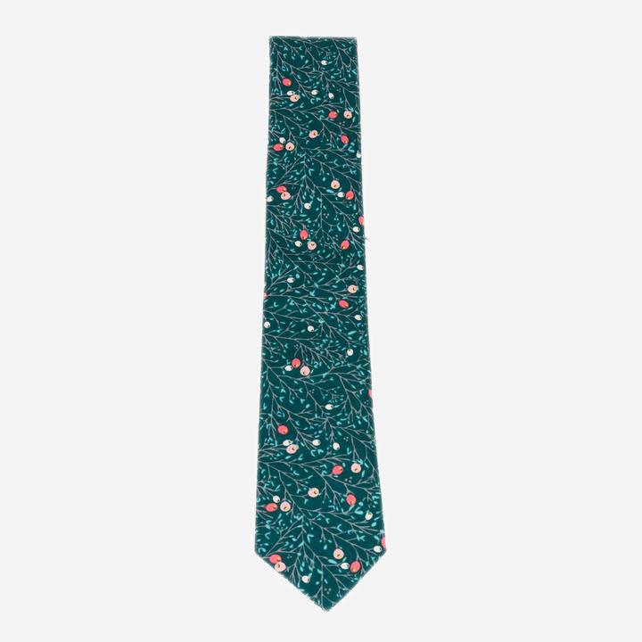 Cursor & Thread - Snowberry Necktie - Green