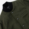 Outclass Attire - Stadium Jacket - Olive Green (MG Exclusive)