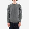 Country Of Origin - Staple 5 Gauge Lambswool Crewneck Sweater - Dark Grey