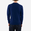 Country Of Origin - Staple 5 Gauge Lambswool Crewneck Sweater - Light Navy