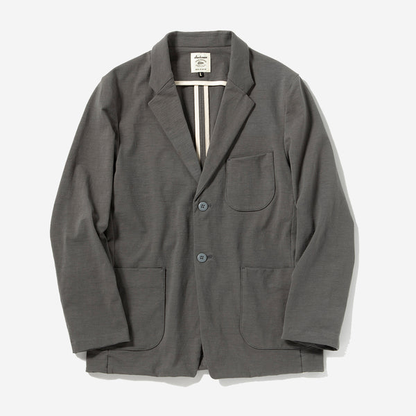 Stretch Jacket Blazer - Rock Grey