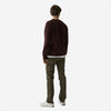 Classic Organic Crew Sweatshirt - Coffee Brown