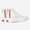 AGE (ACROSS TO GENUINE ERA) - TOP High Canvas Sneakers - White