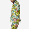 18 Waits - The Desert Blues Blazer - Aloha Floral Leaf