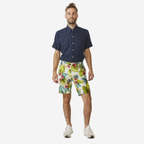 18 Waits - The Slim Short - Aloha Floral Leaf