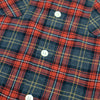 The Woodsman Pocket Shirt - Red & Grey Plaid