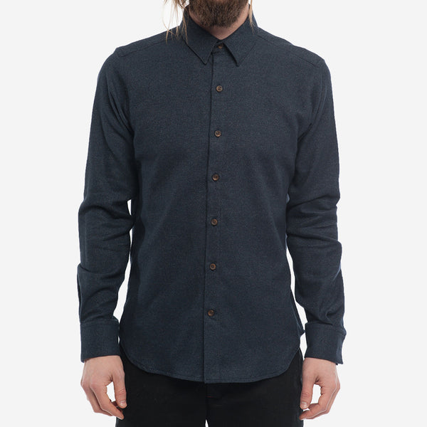 18 Waits - The Dylan Shirt - Midnight Navy Flannel