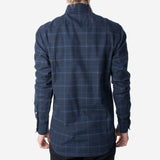 18 Waits - The Dylan Shirt - Soft Navy Check