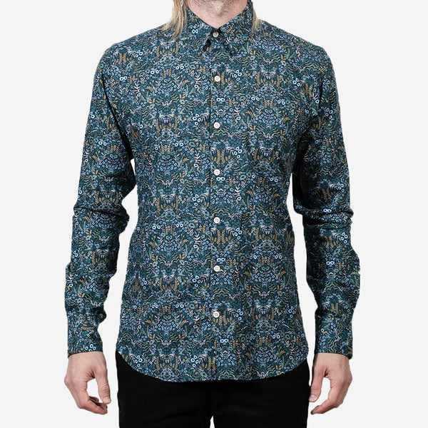 18 Waits - The Dylan Shirt - Winter Floral