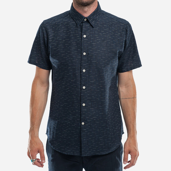 18 Waits - The Dylan Shirt (S/S) - Indigo Dashes