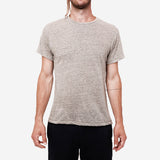 The Signature T-Shirt - Grey Linen Slub