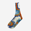 Tie Dyed Crew Socks - Navy