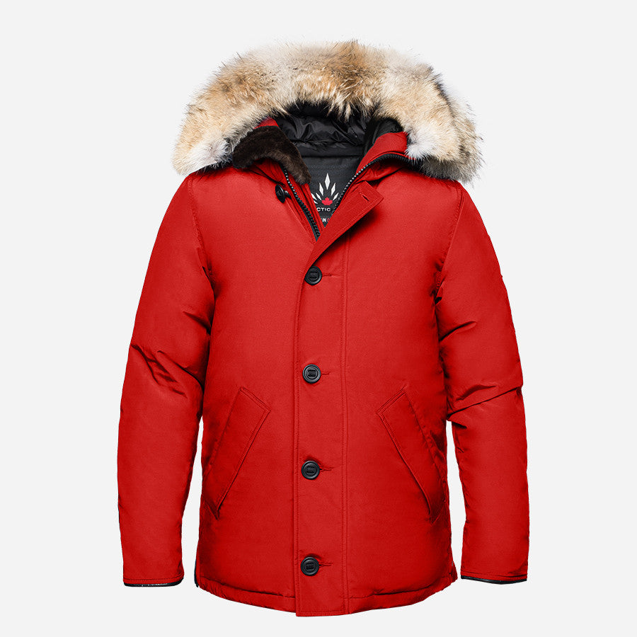 Arctic Bay - Toronto City Parka - Red