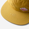 Travel 5-Panel Cap - Mustard Nylon