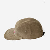 Travel 5-Panel Cap - Acorn Corduroy
