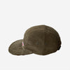 Travel 5-Panel Cap - Olive Corduroy