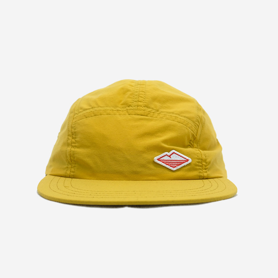Battenwear - Travel 5-Panel Cap - Mustard Nylon