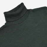 Outclass Attire - Merino Turtleneck - Forest Green