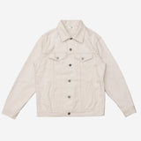 Type 3s Denim Jacket - Lightweight Natural Ecru Selvedge