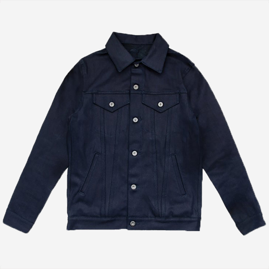 3Sixteen - Type 3s Denim Jacket - Shadow Selvedge