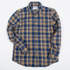 Portuguese Flannel - Union Flannel Shirt - Camel/Blue