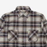 3Sixteen - Utility Flannel Workshirt - Brown Plaid