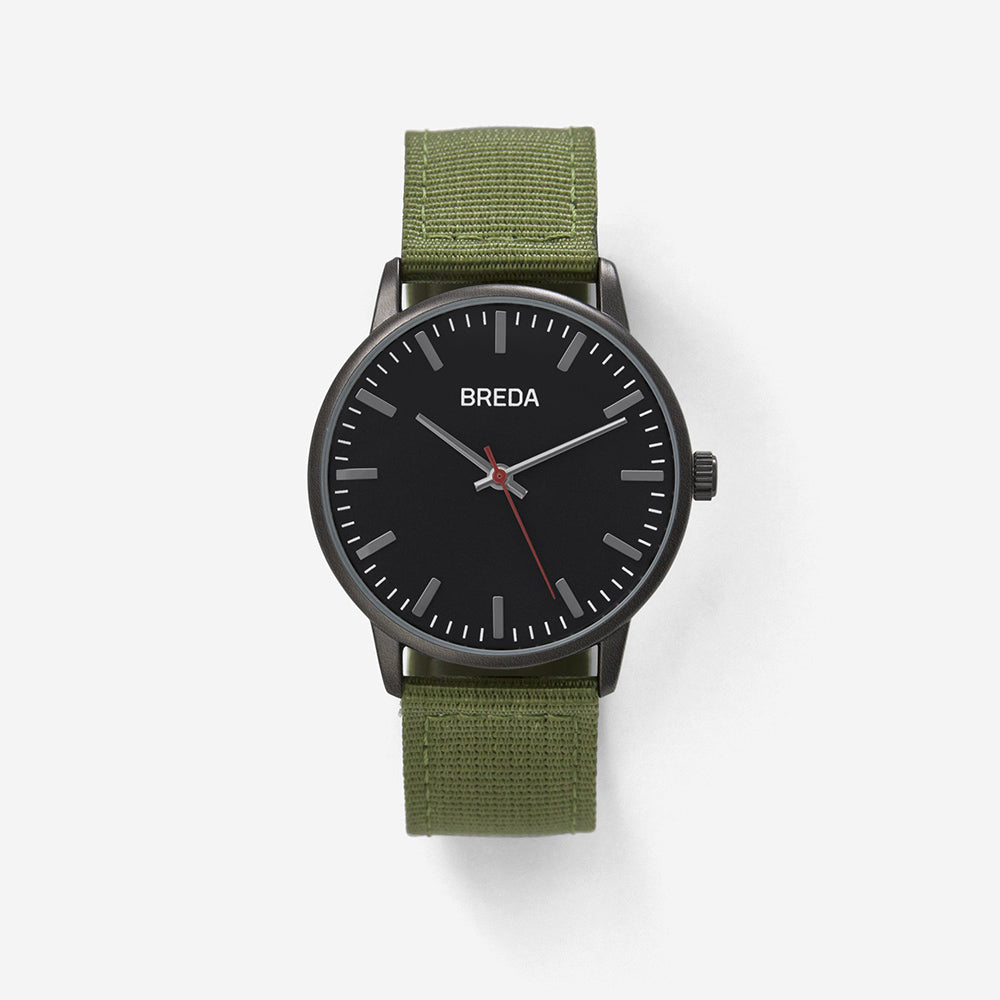 Breda - Valor - Gunmetal/Green