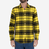 Vila Plaid Flannel Shirt - Yellow/Black