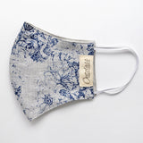 Reversible Face Mask - Vintage Floral