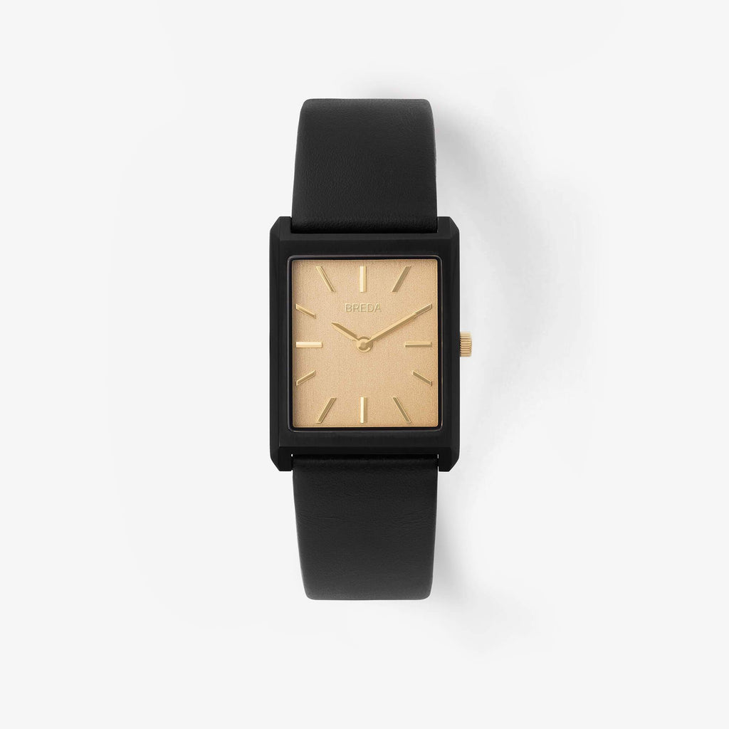 Breda - Virgil - Black/Black/Gold 1736C