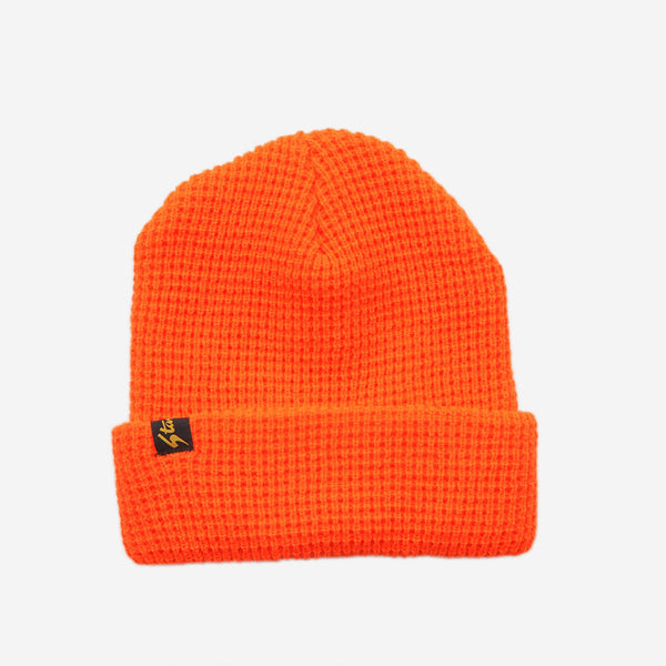 Stan Ray - Waffle Watch Cap Beanie - Blaze Orange
