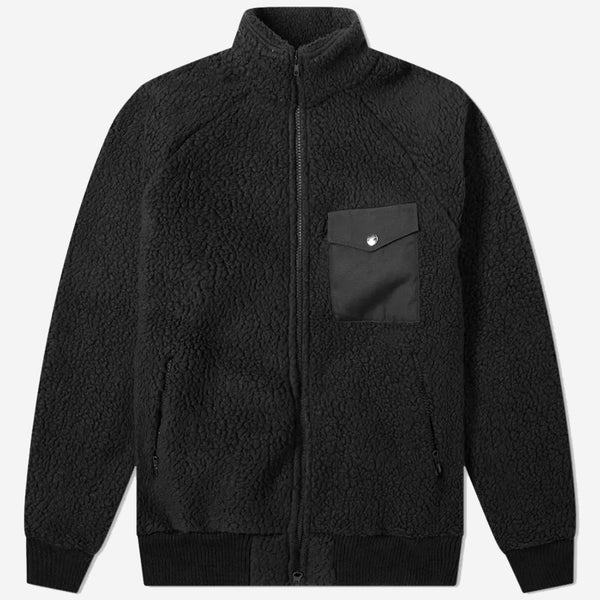 Warm-Up Fleece Jacket - Black