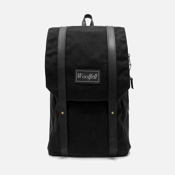 Woolfell - Warrior Backback - Black