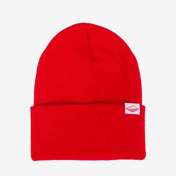Battenwear - Watch Cap Beanie - Dark Red