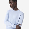 Merino Wool Crew Sweater - Faded Pink