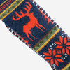 Anonymous Ism - Deer Snow Crew Socks - Navy