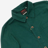 Vetra - Workwear Chore Jacket - Dungaree Twill Bottle Green