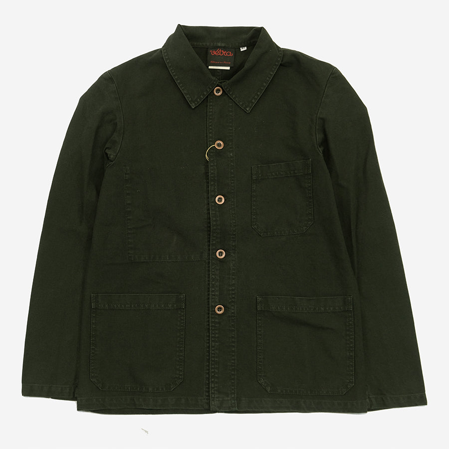 Workwear Chore Jacket - Dungaree Twill Dark Khaki