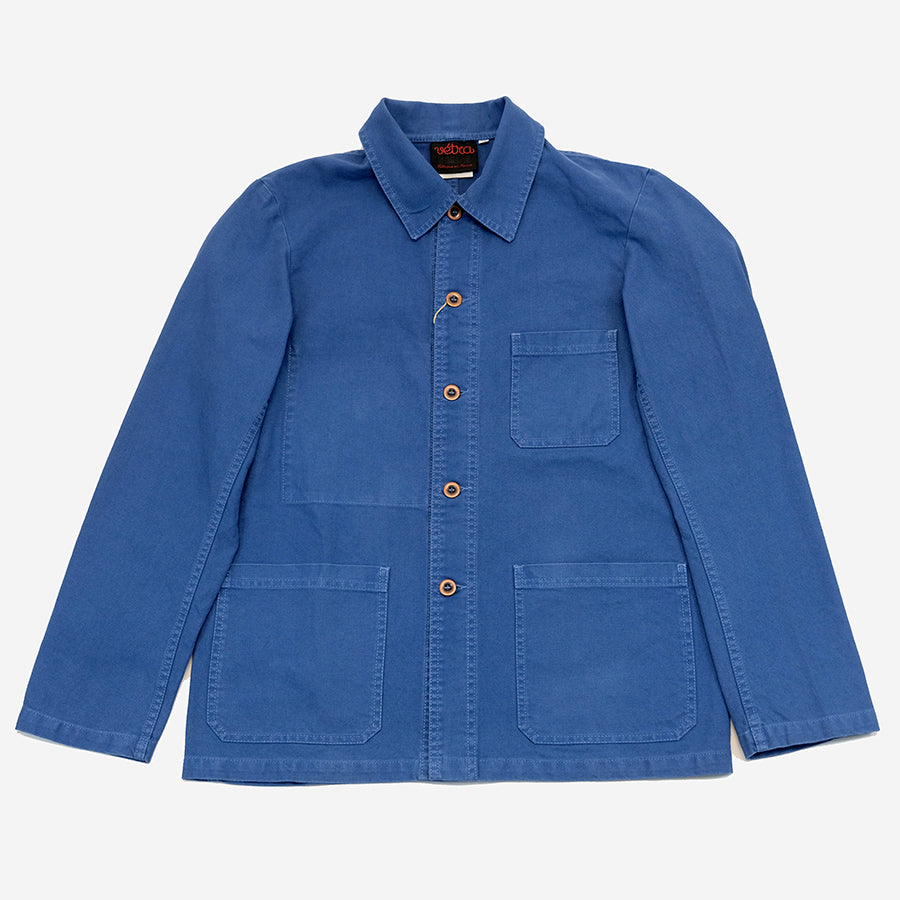 Vetra - Workwear Chore Jacket - Dungaree Twill Indigo