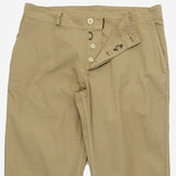 Workwear Trousers - Lightweight Twill Beige Desert