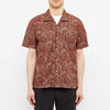 Zuma Vacation Shirt - Red Paisley