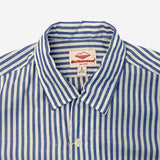 Battenwear - Zuma Vacation Shirt - Blue Stripe
